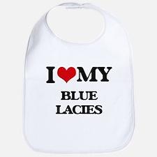 I love my Blue Lacies Bib