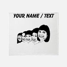 Call Center Operators (Custom) Throw Blanket