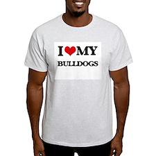 I love my Bulldogs T-Shirt