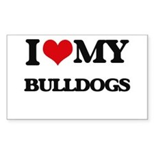 I love my Bulldogs Decal