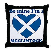 McClintock, Valentine's Day Throw Pillow