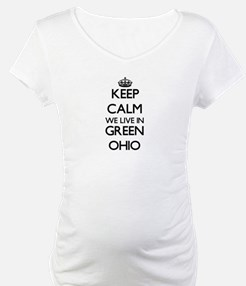 Keep calm we live in Green Ohio Shirt