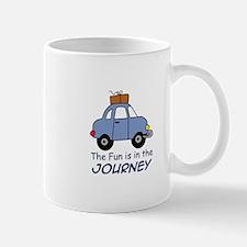 Fun Is In The Journey Mugs