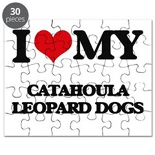 I love my Catahoula Leopard Dogs Puzzle