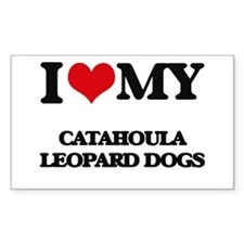 I love my Catahoula Leopard Dogs Decal