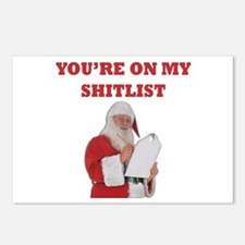 You're On My Shitlist Postcards (Package of 8)