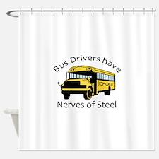 Nerves Of Steel Shower Curtain