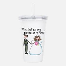 Best Friend Acrylic Double-wall Tumbler