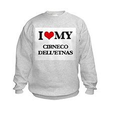 I love my Cirneco Dell'Etnas Sweatshirt