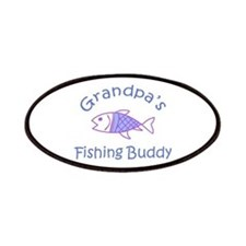 GRANDPAS FISHING BUDDY Patches