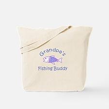 GRANDPAS FISHING BUDDY Tote Bag