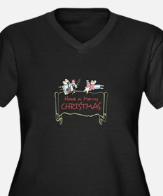 HAVE A MERRY CHRISTMAS Plus Size T-Shirt
