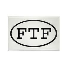 FTF Oval Rectangle Magnet