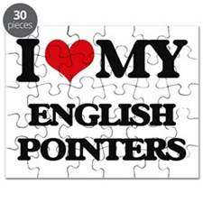 I love my English Pointers Puzzle