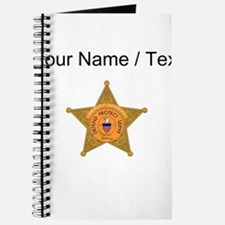 Deputy Sheriff Badge (Custom) Journal