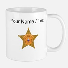 Deputy Sheriff Badge (Custom) Mugs