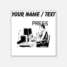Journalist (Custom) Sticker