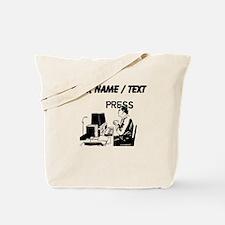 Journalist (Custom) Tote Bag