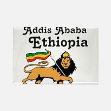 Cute Ethiopia Rectangle Magnet