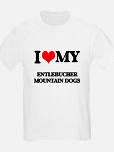 I love my Entlebucher Mountain Dogs T-Shirt