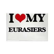 I love my Eurasiers Magnets