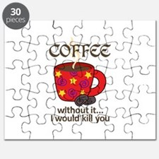 WITHOUT COFFEE Puzzle