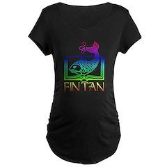 Fin Tan Rainbow T-Shirt