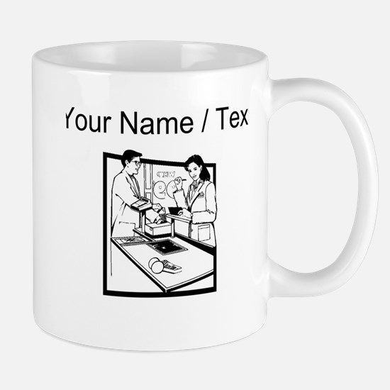 Grocery Clerk (Custom) Mugs