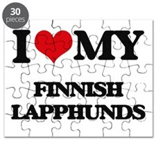 I love my Finnish Lapphunds Puzzle
