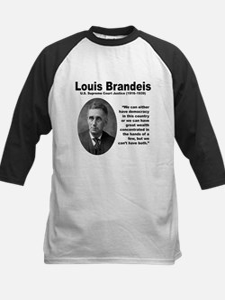 Brandeis Inequality Kids Baseball Jersey