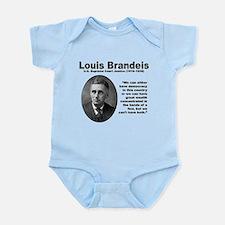 Brandeis Inequality Infant Bodysuit