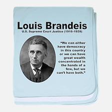 Brandeis Inequality baby blanket