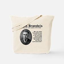 Brandeis Inequality Tote Bag