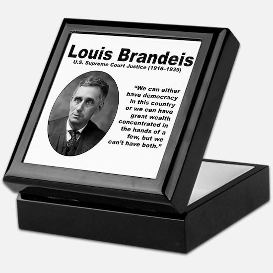 Brandeis Inequality Keepsake Box