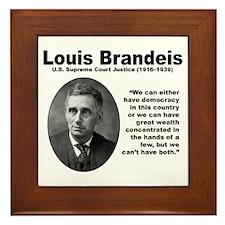 Brandeis Inequality Framed Tile