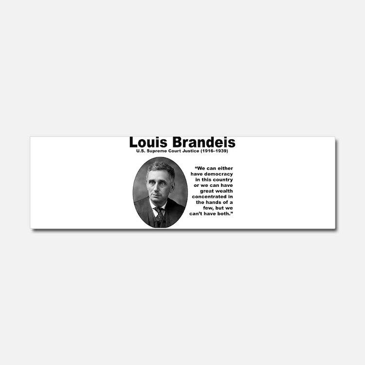 Brandeis Inequality Car Magnet 10 x 3
