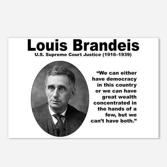 Brandeis Inequality Postcards (Package of 8)
