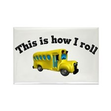 This is how I roll Rectangle Magnet (10 pack)