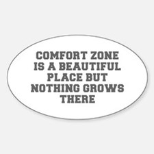 COMFORT ZONE IS A BEAUTIFUL PLACE BUT NOTHING GROW
