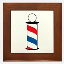 BARBER POLE Framed Tile