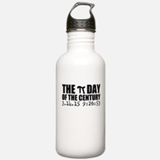 The Pi Day of the Century Water Bottle