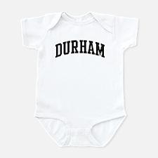 DURHAM (curve-black) Infant Bodysuit