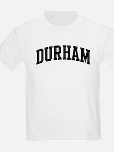 DURHAM (curve-black) T-Shirt