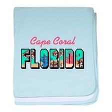 CAPE CORAL FLORIDA baby blanket