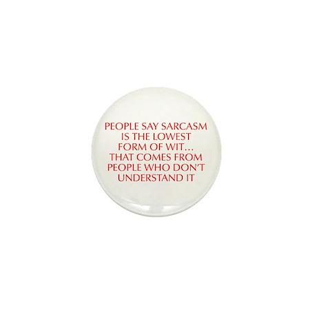 Sarcasm Lowest Form Wit Button | Sarcasm Lowest Form Wit Buttons ...