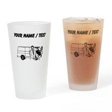Car Salesman (Custom) Drinking Glass