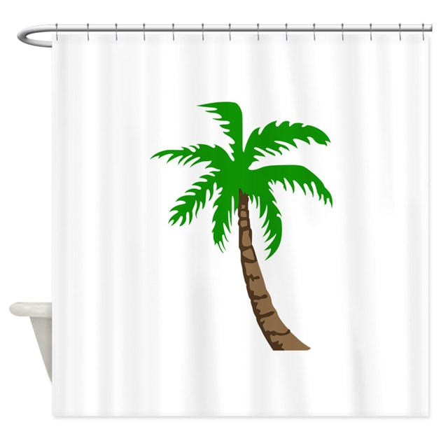 Palm Tree Shower Curtain By Greatnotions17