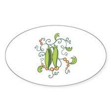 PEAS IN A POD Decal