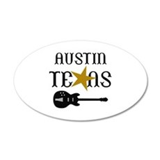 AUSTIN TEXAS MUSIC Wall Decal