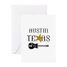 AUSTIN TEXAS MUSIC Greeting Cards